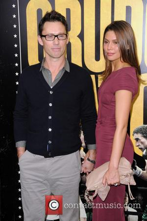 Jeffrey Donovan and Michelle Woods -