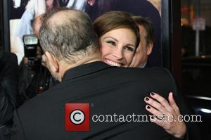 Julia Roberts and Harvey Weinstein