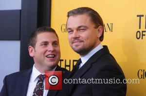 Jonah HIll and Leonardo DiCaprio - US Premiere of The Wolf Of Wall Street - New York City, New York,...