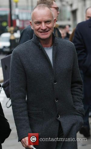 Sting and Gordon Sumner - Celebrities outside the BBC Radio 1 studios - London, United Kingdom - Wednesday 18th December...