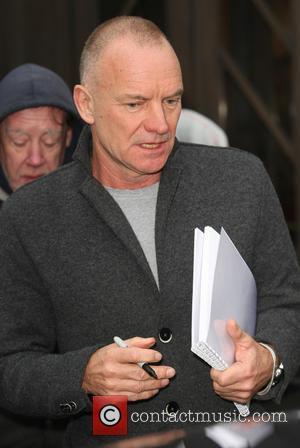 Sting and Gordon Sumner - Celebrities outside the BBC Radio 1 studios - London, United Kingdom - Wednesday 18th December...