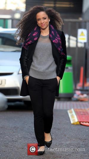 Natalie Gumede - Natalie Gumede outside the itv studios - London, United Kingdom - Wednesday 18th December 2013