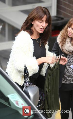 Davina McCall - Davina McCall outside the itv studios - London, United Kingdom - Wednesday 18th December 2013