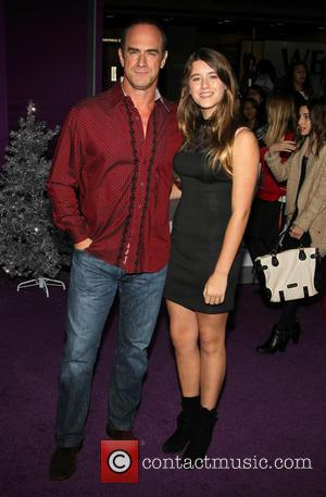Christopher Meloni and Sophia Eva Pietra Meloni - World Premiere of  'Justin Bieber's Believe' held at The Premiere House...