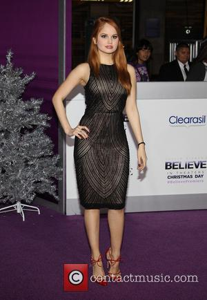 Debby Ryan - World Premiere of  'Justin Bieber's Believe' held at The Premiere House at Regal Cinemas L.A. Live...