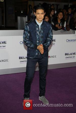Harry Shum Jr. - World Premiere of  'Justin Bieber's Believe' held at The Premiere House at Regal Cinemas L.A....