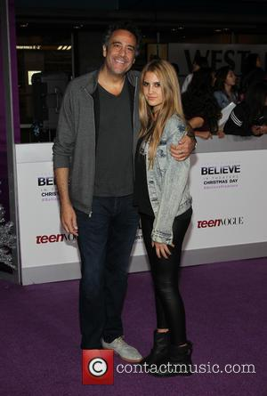 Brad Garrett and Hope Garrett - Open Road Films JUSTIN BIEBER'S BELIEVE memoir and concert film, presented by Teen Vogue...