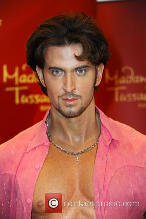 Hrithik Roshan - Unveiling of five wax figures of the greatest stars of Bollywood at the Embassy of India -...
