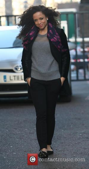 Natalie Gumede - Natalie Gumede leaving the ITV Studios - London, United Kingdom - Wednesday 18th December 2013