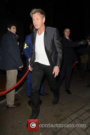 Gordon Ramsay - Celebrities at Chakana Club - London, United Kingdom - Thursday 19th December 2013