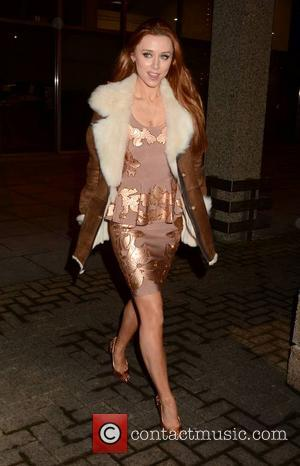 Una Healy - Guests arrive at the last Late Show Show before Christmas pre-record, RTE... - Dublin, Ireland - Thursday...