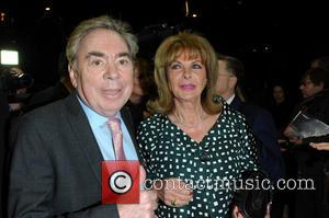 Andrew Lloyd Webber and Mandy Rice Davies