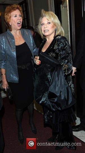 Cilla Black and Elaine Paige