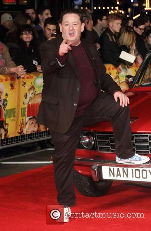 Johnny Vegas - 'The Harry Hill Movie' World Premiere at the Vue Cinema, Leicester Square, London - London, United Kingdom...