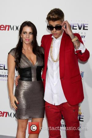 Pattie Mallette and Justin Bieber