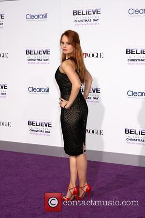 Debby Ryan - Believe World Premiere, starring Justin Bieber - Los Angeles, California, United States - Thursday 19th December 2013
