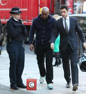 Mike GLC - Tulisa Contostavlos' co-defendant Mike GLC arrives at Westminster Magistrates Court to answer charges relating to the supply...