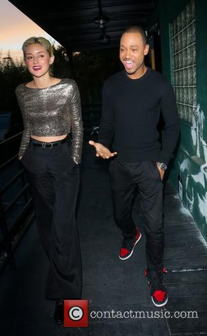Caroline D'Amore and Terrence Jenkins - Caroline D'Amore and Terrence Jenkins leaving the Heartbeatz Radio Show at Skee Studio in...