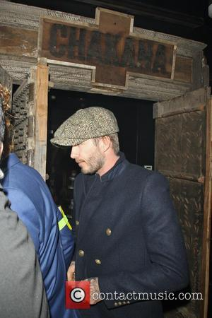 David Beckham Contemplates Spending Christmas As Santa
