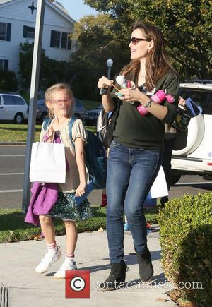 Jennifer Garner and Violet Affleck