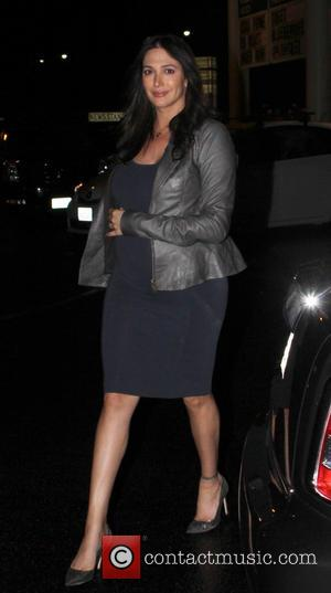 Lauren Silverman - Simon Cowell seen arriving at Mixology with his heavily pregnant girlfriend Lauren Silverman - Los Angeles, California,...