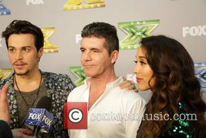Alex Kinsey, Simon Cowell and Sierra Deaton