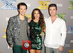 Alex & Sierra, Alex Kinsey, Sierra Deaton and Simon Cowell - The X Factor Season 3 Finale held at CBS...