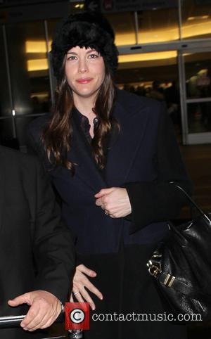 Liv Tyler - Celebrities arrive at LAX (Los Angeles International) airport - Los Angeles, California, United States - Friday 20th...