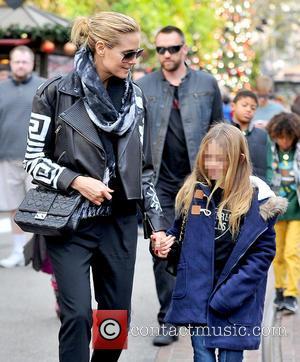 Heidi Klum and Leni Samuel
