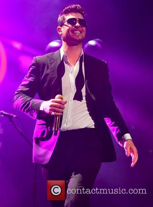 Robin Thicke - Y100''s Jingle Ball 2013 presented by Jam Audio Collection at BB&T Center - Concert - Sunrise, Florida,...