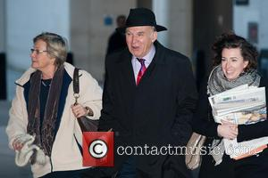 Rachel Smith and Vince Cable - Politicians arrive for the Andrew Marr Show and other morning programmes held at the...