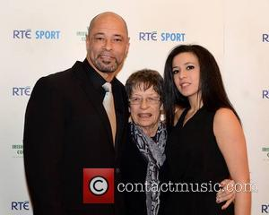 Paul Mcgrath, Betty Mcgrath and Mawia O'reilly
