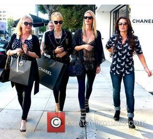 Kathy Hilton, Paris Hilton, Nicky Hilton and Kyle Richards