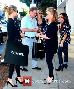 Paris Hilton, Richard Hilton, Nicky Hilton, Kyle Richards and Kathy Hilton