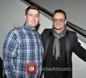 Bono and Fan Ross Dardis