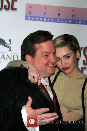 Miley Cyrus and Jeff Beacher - Miley Cyrus hosts the premiere of Beacher's Madhouse Las Vegas at MGM Grand Hotel...