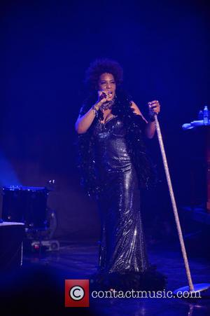 Macy Gray - Macy Gray performs during her 14th Anniversary - 'On How Life Is' at Casino Miami Jai Alai...