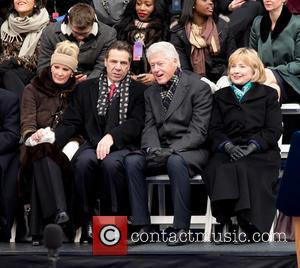 Sandra Lee, Andrew Cuomo, Bill Clinton and Hillary Clinton