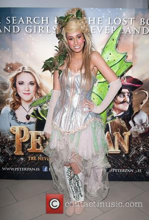 Stacey Solomon - Peter Pan: The Never Ending Story - VIP night held at the Wembley Arena - Arrivals. -...