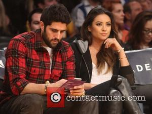 Shay Mitchell - Friday January 3, 2014; Celebs out at the Lakers game. The Los Angeles Lakers defeated the Utah...