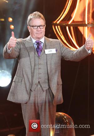 Jim Davidson - Celebrity Big Brother 2014 - Contestants Enter The House - Borehamwood, United Kingdom - Friday 3rd January...