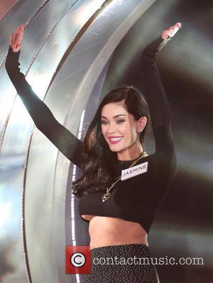 Jasmine Waltz - Celebrity Big Brother 2014 - Contestants Enter The House - Borehamwood, United Kingdom - Friday 3rd January...