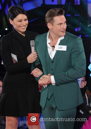 Emma Willis and Lee Ryan
