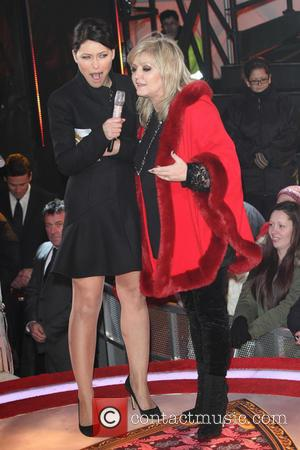 Emma Willis and Linda Nolan