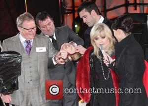 Jim Davidson, Linda Nolan and Emma Willis
