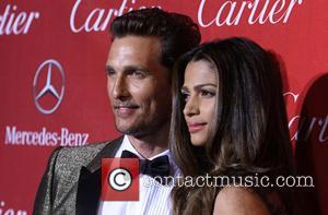 Matthew Mcconaughey and Camila Alves-mcconaughey