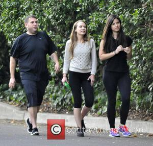 Jonah Hill and Isabelle McNally - Jonah Hill and new girlfriend Isabelle McNally (C) go for an evening hike with...