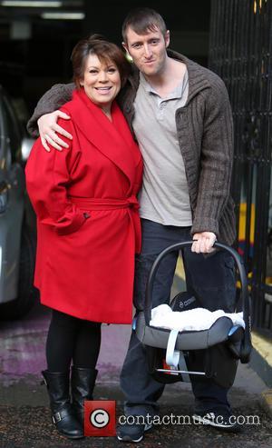 Tina Malone and husband Paul - Tina Malone and husband Paul outside itv studios - London, United Kingdom - Monday...