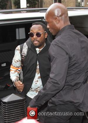 Will.i.am - Celebrities outside the BBC Radio 1 studios - London, United Kingdom - Monday 6th January 2014