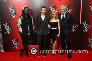 Kylie Minogue, Ricky Wilson, Will.i.am and Sir Tom Jones
